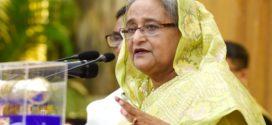 দুর্যোগ ব্যবস্থাপনায় বাংলাদেশ বিশ্বে রোল মডেলে পরিণত হয়েছে : শেখ হাসিনা